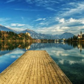 Bled is known for the glacial lake, which makes it a major tourist attraction. Perched on a rock overlooking the lake is the iconic Castle. A sma...