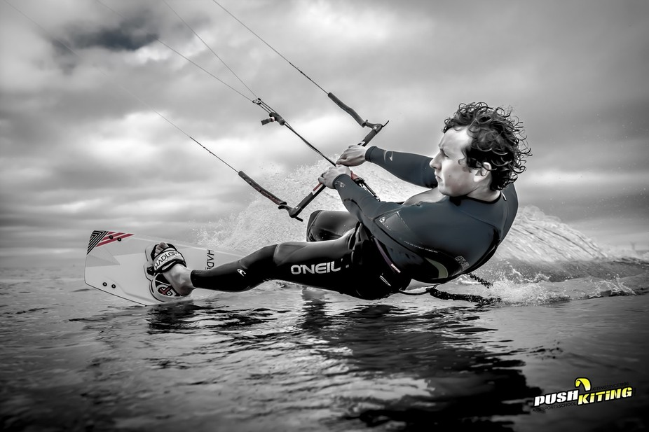 A fantastic day of kitesurfing in essex
