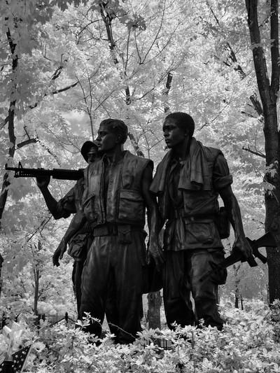 Three Servicemen Vietnam War Memorial