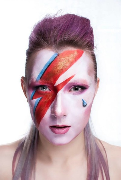 The face of Bowie