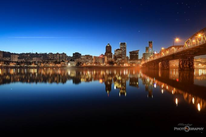 Portland Blues by coreyrudolph - Cities By The Water Photo Contest