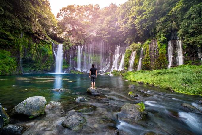 Shiraito Falls by MatthewKou - Zen Photo Contest