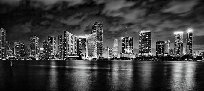MIAMI by KoreaSaii - Black And White Architecture Photo Contest