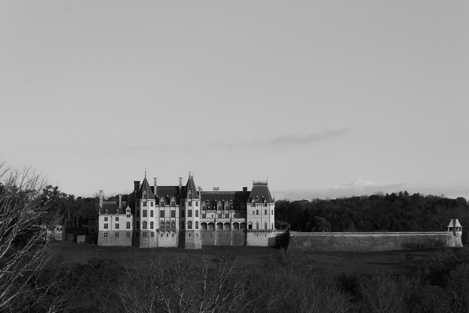 This image was captured at the Biltmore Estate in Asheville, NC during a horse and carriage ride ...