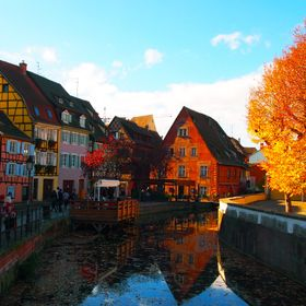 Beautiful town of Colmar, France