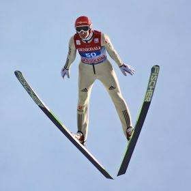 Garmisch Ski-jumping - one of the major World Cup competitions