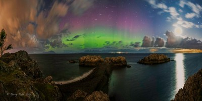 Northern Lights over the Sunshine Coast