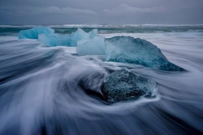 Glacial Ice Bids Farewell