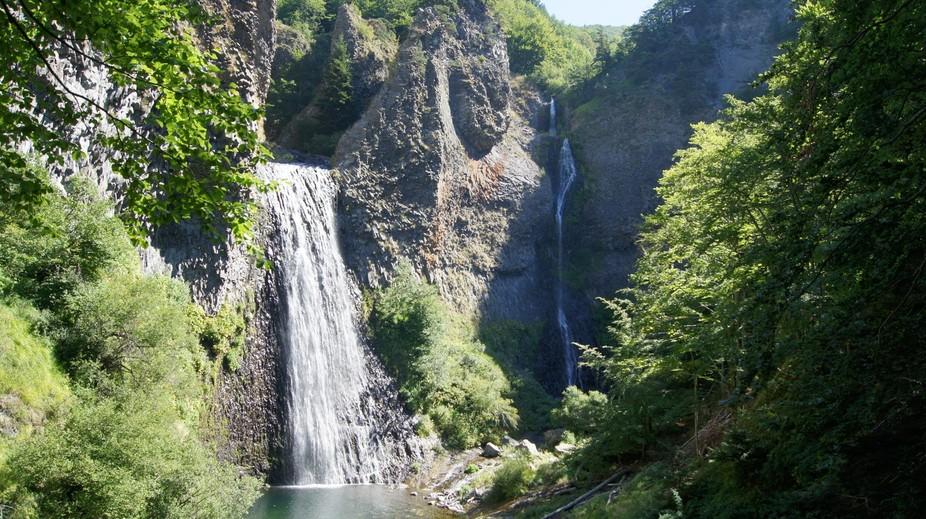 Cascade du Ray Pic, lower cascade