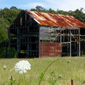 This barn is just off a major highway in NSW Australia.  It was very popular back in the 1940's and 1950's as it was used as an old dan...