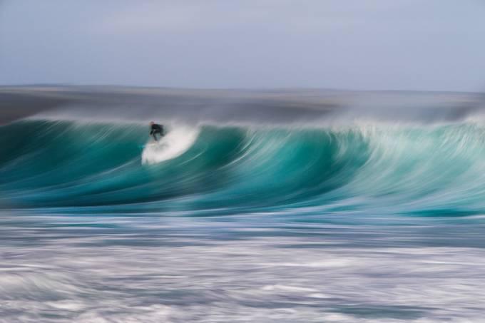 Slow Surfer Wave 4 by Cokies004 - Capture Motion Blur Photo Contest