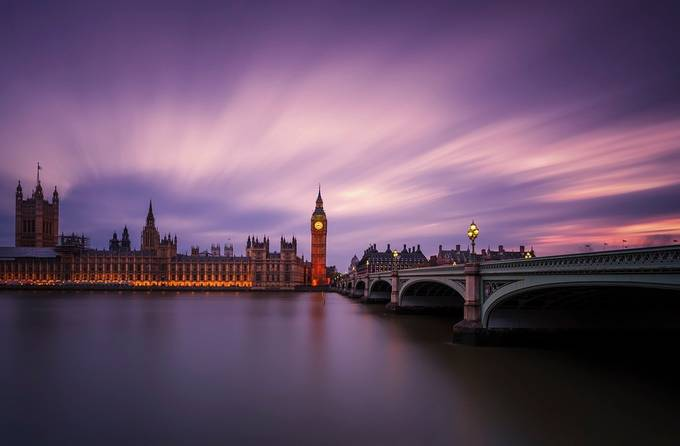The Bigben at sunset by georgepapapostolou - Europe Photo Contest