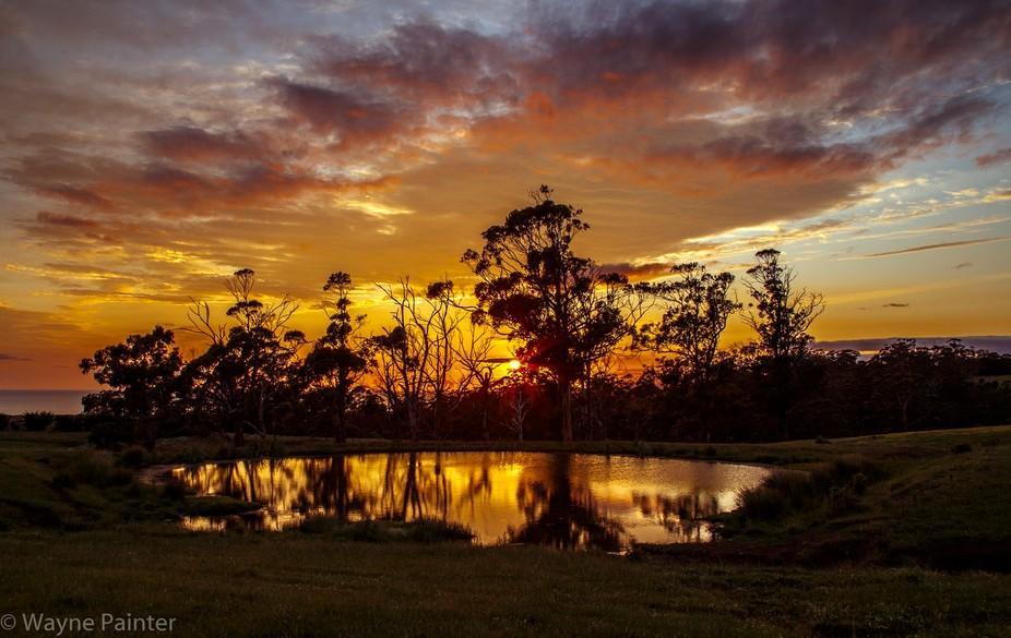 A Tasmanian dawn.