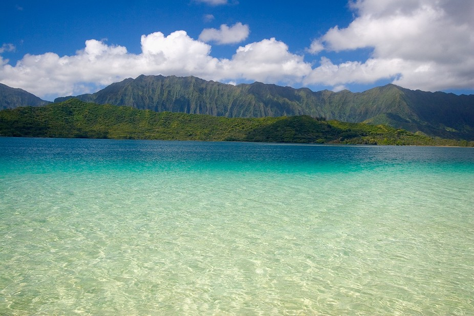 Kaneohe Bay as Captain Cook would have found it.