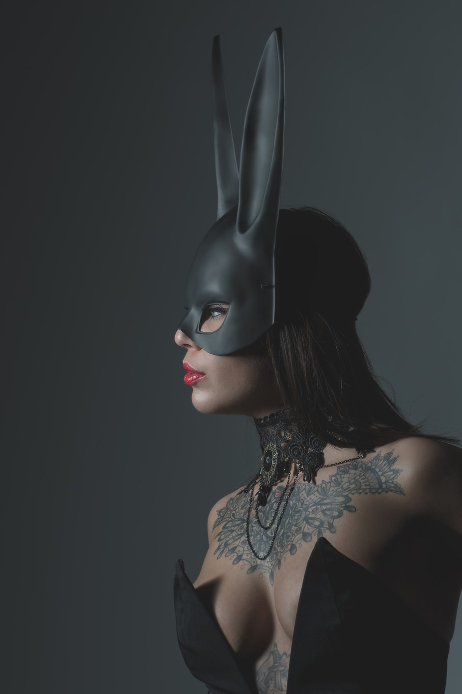 Burlesque Bunny by Rob_Lopshire - Mysterious Shots Photo Contest