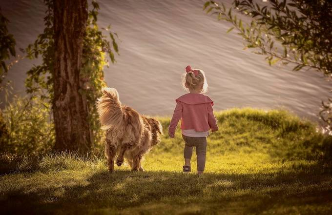 Forever Friends by ks_pics - Children and Animals Photo Contest