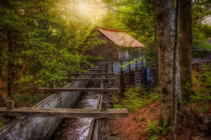 Cable Mill in Cades Cove by Merma1d - Clever Angles Photo Contest