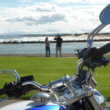 Capturing ''The Moment'' at Lossiemouth Beach