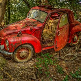 The lost and forgotten car ....