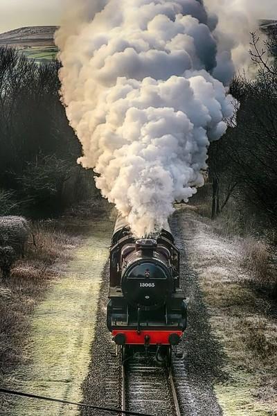A full head of steam