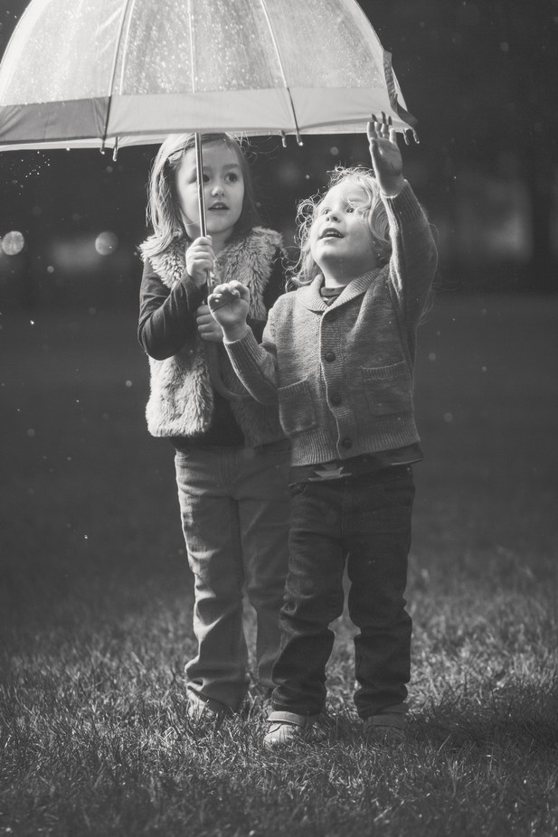 RJ & Lea | Rainy Day by Danni_Appel - Kids With Props Photo Contest