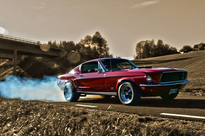 1968 Mustang Fastback by lindapersson - Flares 101 Photo Contest