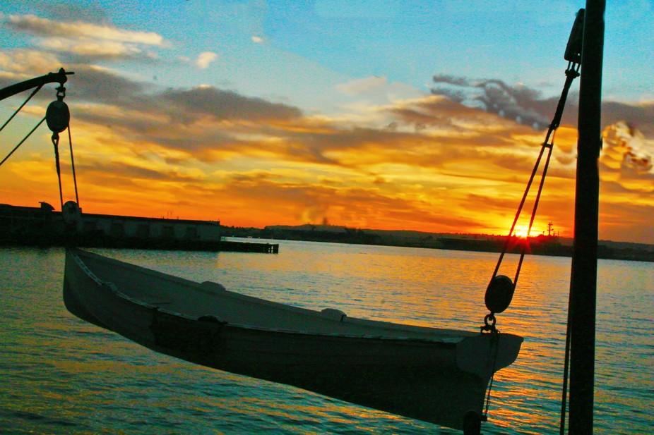 Sunrise at the embarcadero