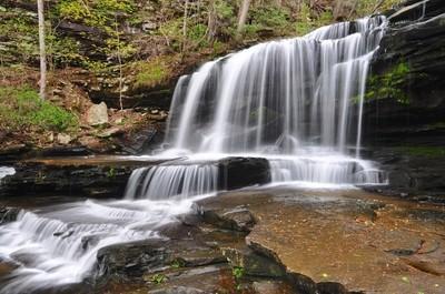 Gregg's Two Falls, Upper Falls