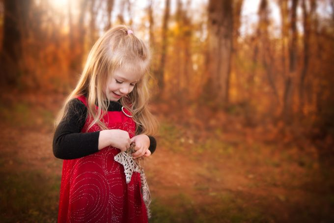 Christmas Magic by Merma1d - Children In Nature Photo Contest