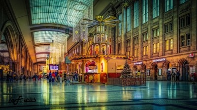 christmas in central station