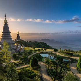 Wonderland || The Great Relic Pagodas, Chiang Mai, Thailand   2 am wake up, 2 hour freezing scooter drive into the mountains alone, 2 hours waiti...