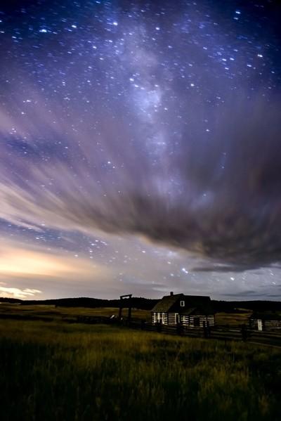 Night Sky at the Hornbek Homestead