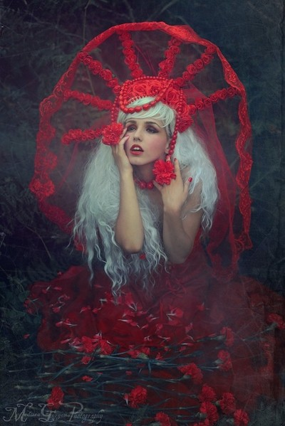 Red colour of Desire
