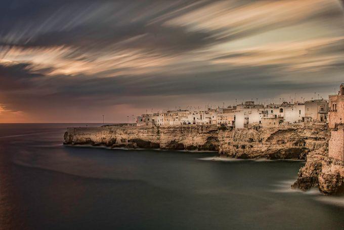 Polignano a Mare by glennmarcus - Clouds In Movement Photo Contest