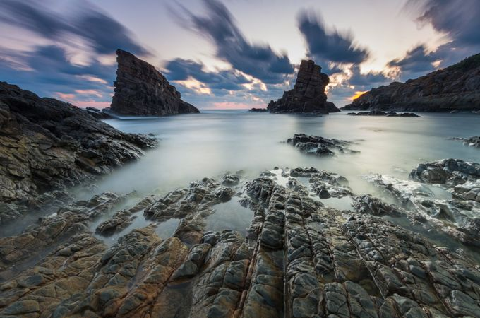 The ship rocks by muncho_ - Clouds In Movement Photo Contest