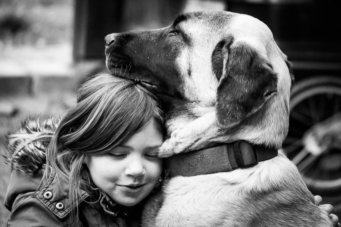 The best friend of a child by Streetshooter - Children and Animals Photo Contest