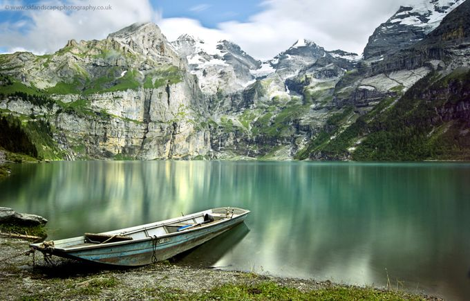Oeschinensee by sklandscape - Ships And Boats Photo Contest