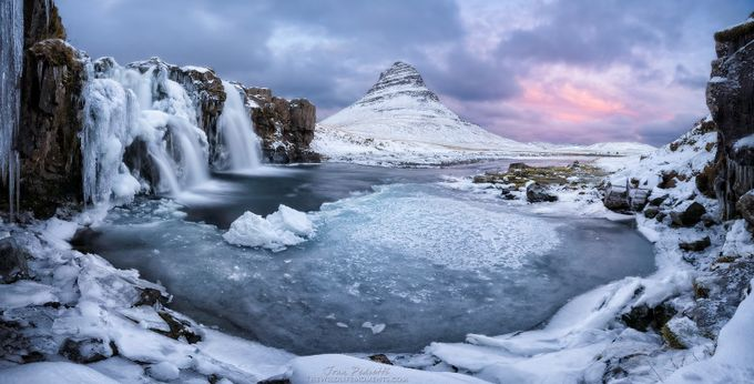 Kirkjufell pool by wildlifemoments - Rule Of Thirds In Nature Photo Contest