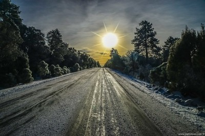 Ice Road to the Sun