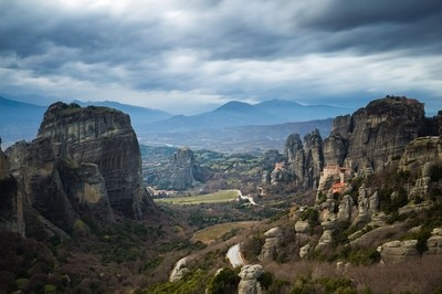 An Afternoon in Meteora
