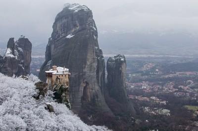 Winter in Meteora