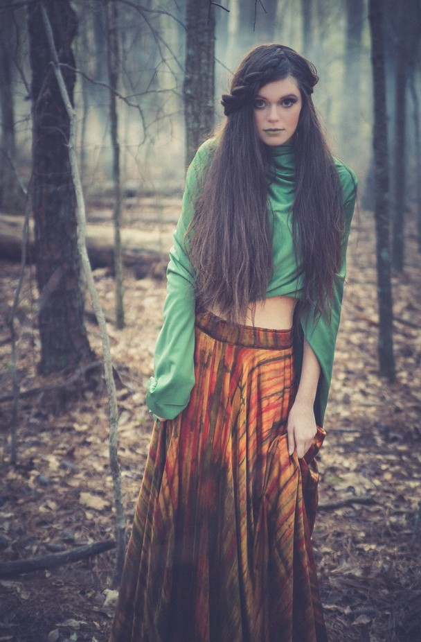 Into the woods by BFloyd - Long Hair Photo Contest