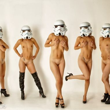 My version of the Stormtroopers.
