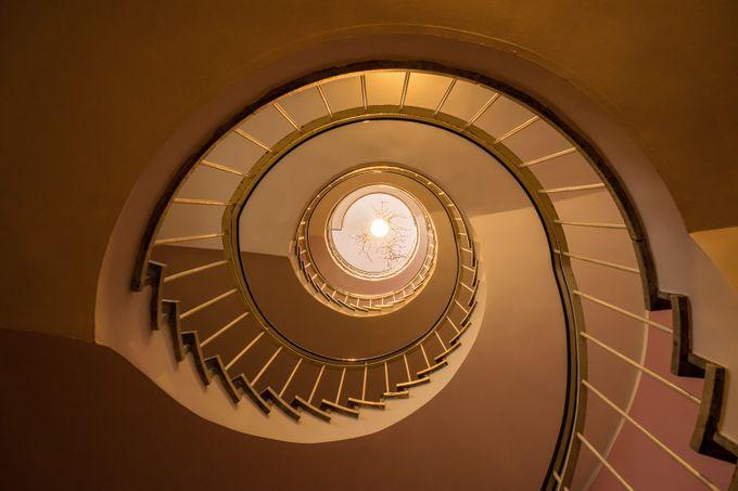 Stairway to Glockenspiel by martinrosenkranz - Spirals And Composition Photo Contest