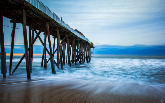 Belmar Fishing Pier #2 by teajuice - The View Under The Pier Photo Contest