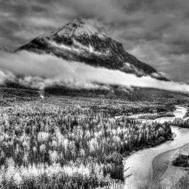 Located south of Palmer, Alaska in the Matanuska Valley.