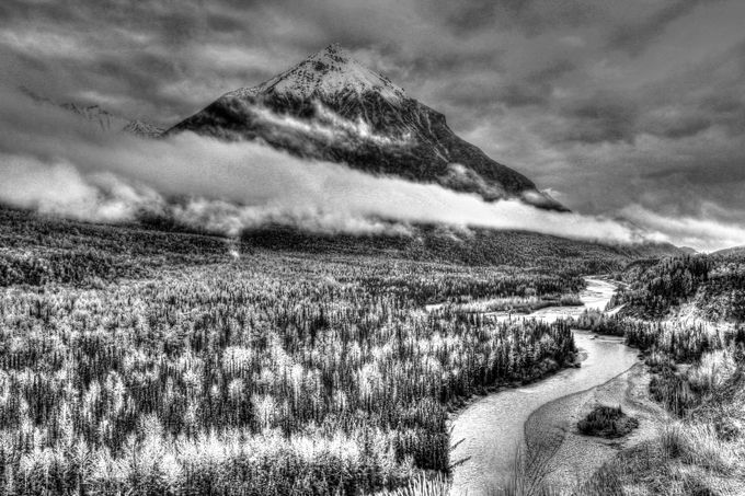 Located south of Palmer, Alaska in the Matanuska Valley.