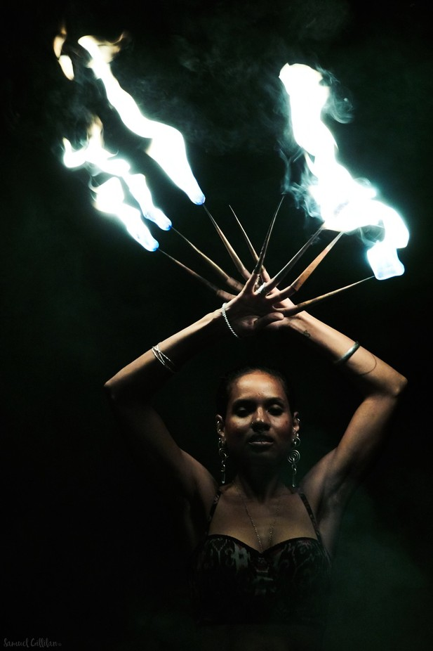 Power Woman by SamuelGillilanPhotography - Capture The Four Elements Photo Contest