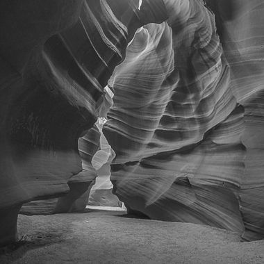 20150919 GoPro Slot Canyon 065 BW