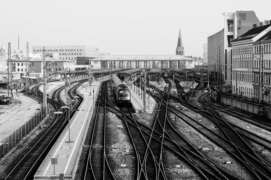 Westbahnhof ,the western trainstation of Vienna .